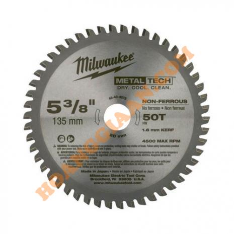 Lưỡi máy cưa đĩa cắt kim loại 135mm 50T Milwaukee 48-40-4075