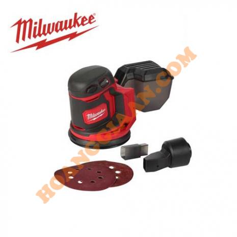 Máy chà nhám dùng pin 18V Milwaukee M18 BOS125-0X0 (Không kèm pin & sạc)