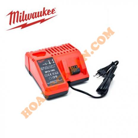 Sạc Pin Milwaukee 12V, 18V M12/M18 M12-18C