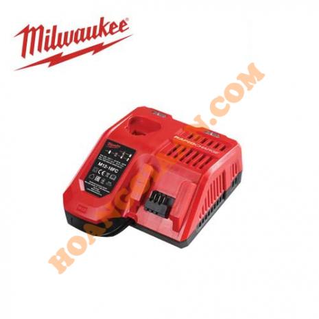 Sạc nhanh pin Milwaukee 12V, 18V M12/M18 M12-18FC