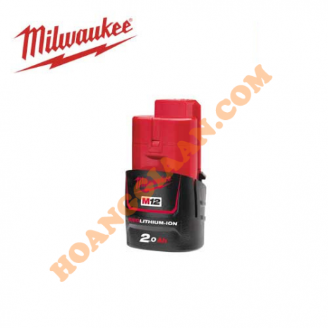 Pin M12™ REDLITHIUM™-ION Milwaukee 12V 2.0Ah M12B2