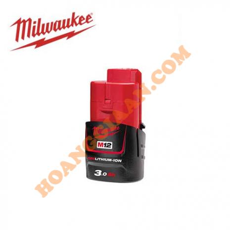 Pin M12™ REDLITHIUM™-ION Milwaukee 12V 3.0Ah M12B3