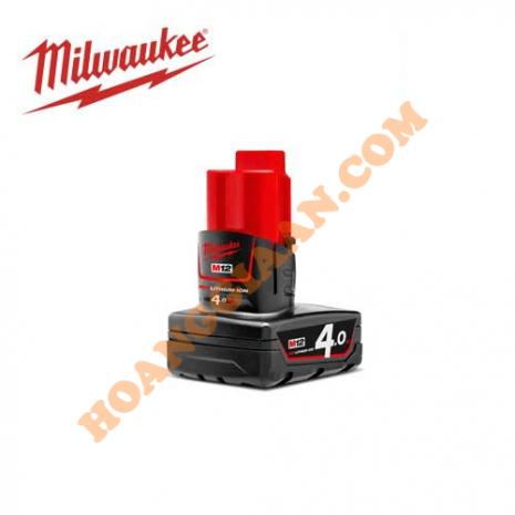 Pin M12™ REDLITHIUM™-ION Milwaukee 12V 4.0Ah M12B4