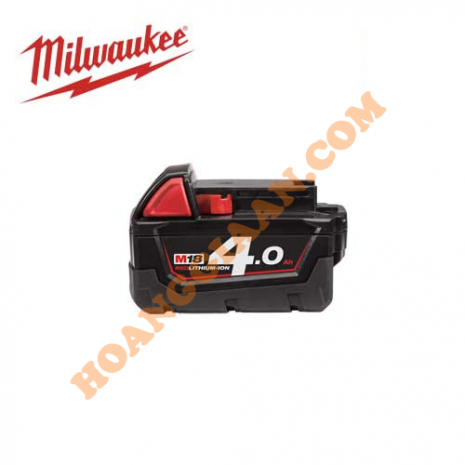 Pin M18™ REDLITHIUM™-ION Milwaukee 18V 4.0Ah M18B4