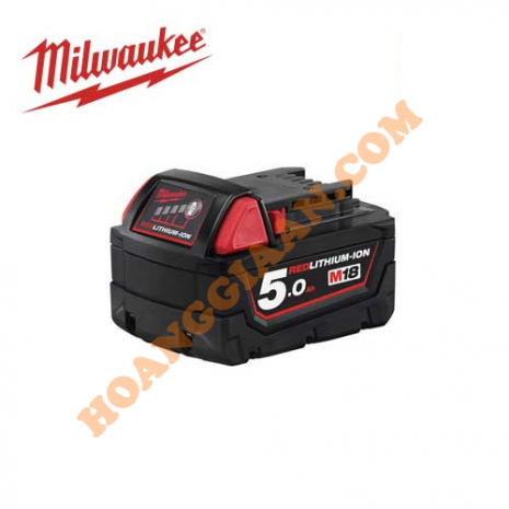 Pin M18™ REDLITHIUM™-ION Milwaukee 18V 5.0Ah M18B5