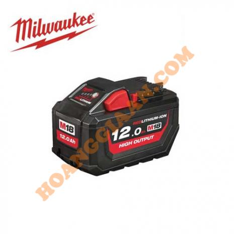 Pin M18™ HIGH OUTPUT™ Milwaukee 18V 12.0Ah M18 HB12