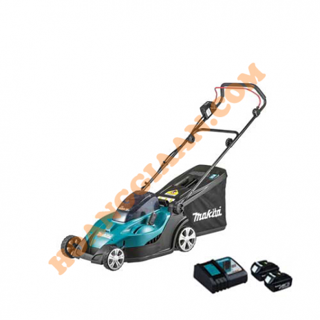 Xe cắt cỏ đẩy dùng pin Makita DLM431PM2 18V