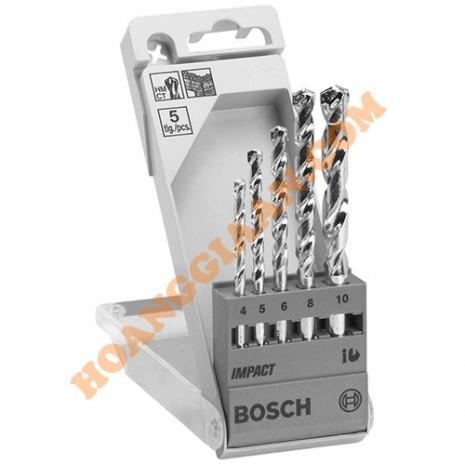 Mũi khoan bê tông bộ 5 mũi Bosch 2 608 680 726