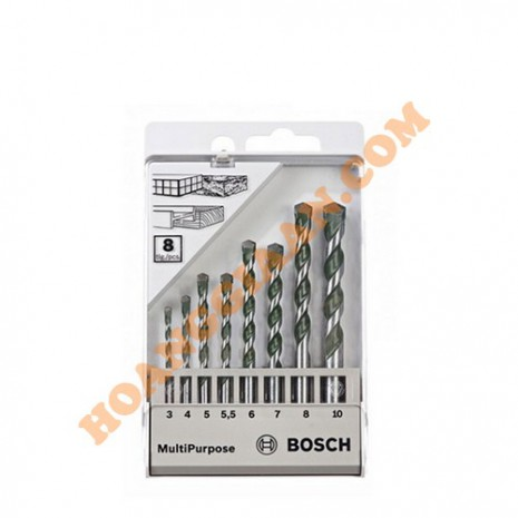 Mũi khoan đa vật liệu 3-10mm Bosch 2 608 680 799