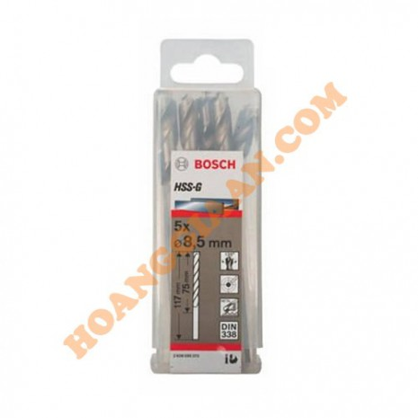Mũi khoan sắt 8.5mm HSS-G Bosch 2 608 595 073