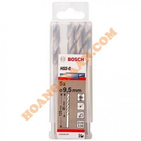 Mũi khoan sắt 9.5mm HSS-G Bosch 2 608 595 076