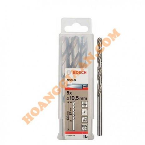 Mũi khoan sắt 10mm HSS-G Bosch 2 608 595 077