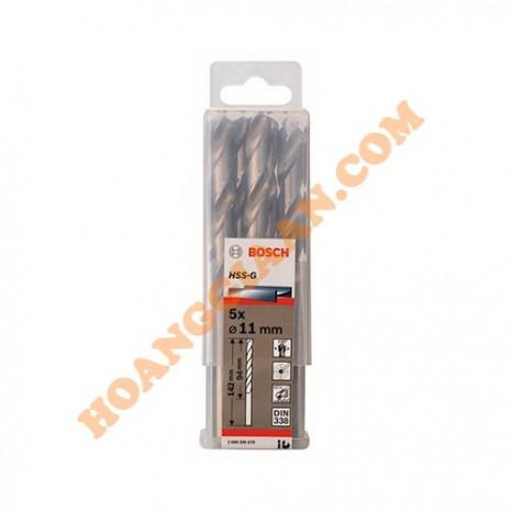Mũi khoan sắt 11mm HSS-G Bosch 2 608 595 079