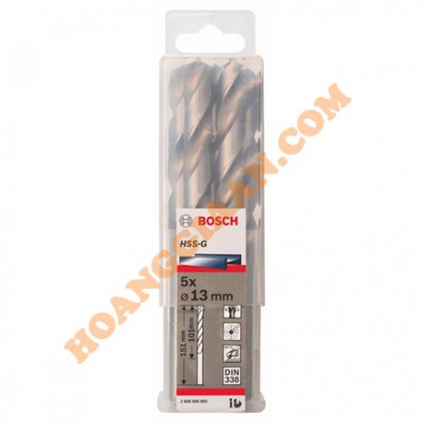 Mũi khoan sắt 12.5mm HSS-G Bosch 2 608 595 082