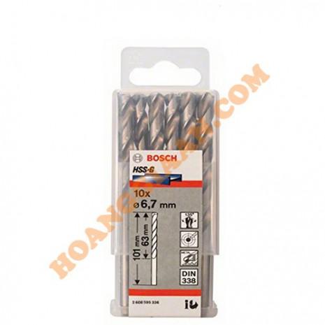 Mũi khoan sắt 6.7mm HSS-G Bosch 2 608 595 336