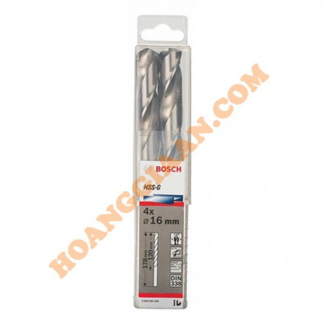 Mũi khoan sắt 14mm HSS-G bộ 4 mũi Bosch 2 608 585 593