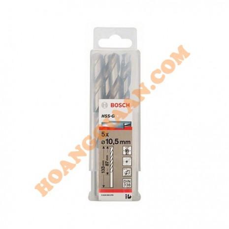 Mũi khoan sắt 16mm HSS-G bộ 4 mũi Bosch 2 608 585 595