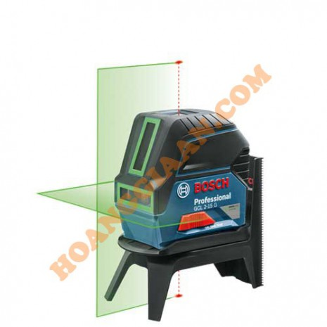 Máy cân mực tia laser Bosch GCL 2-15 G tia xanh