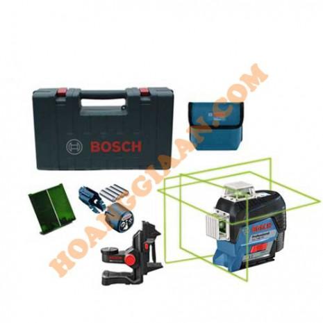 Máy cân mực laser Bosch GLL 3-80 CG (Tia xanh)
