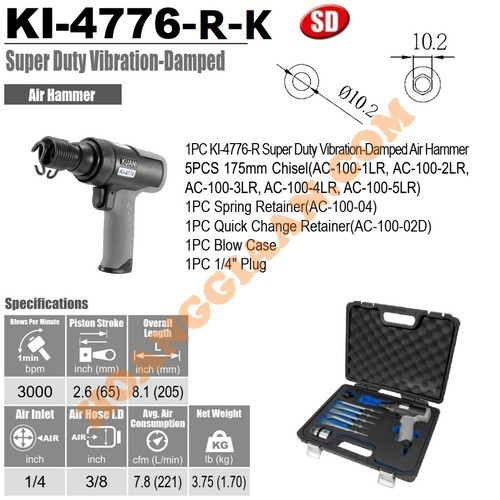 Búa hơi Kuani KI-4776-R-K